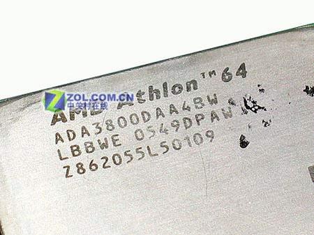 E6版核心 939针速龙64 3800+仅1360元