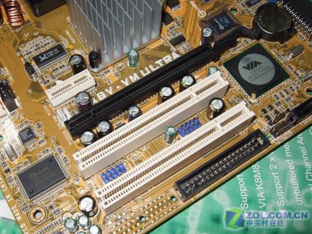 华硕A8V-VM Ultra扩展插槽