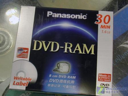 松下DVD RAM盘