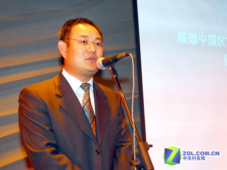 联想集团中国区Think业务部总经理 仪晓辉