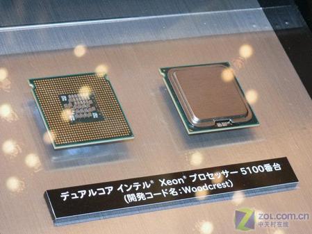 Woodcrest 英特尔推首款Core架构CPU