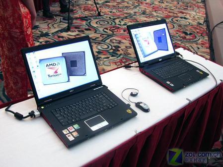 两款AMD双核笔记本