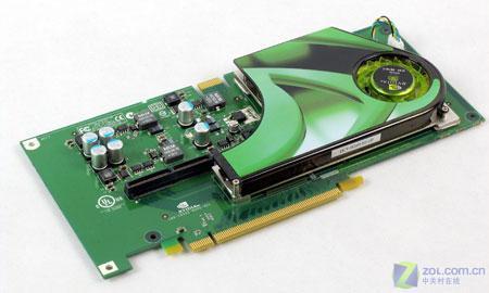 图为:技嘉GeForce 7900GX2 显卡