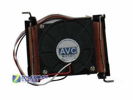 AVC 1U服务器散热器外观