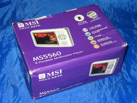 微星 MS-5560包装盒
