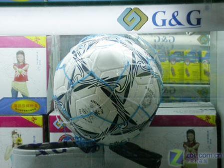 【图】赠送的足球