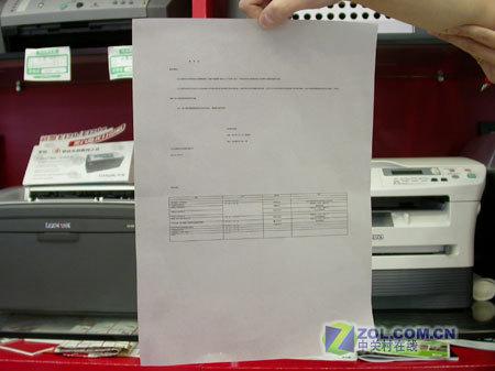 利盟E120还可以打印在硫酸纸上打印8号字