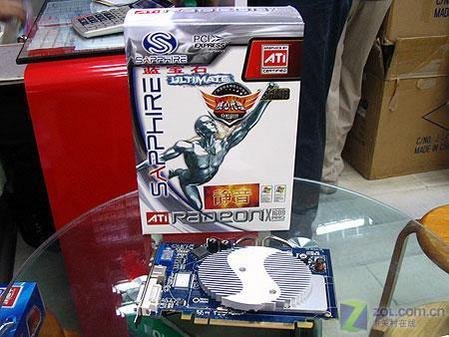 图为:蓝宝石X1600PRO Ultimate 显卡