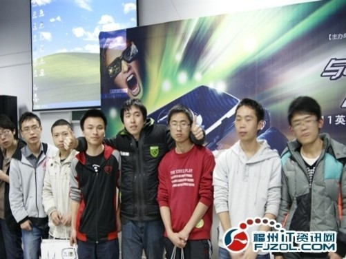 3d视觉革命 2011nv校园行走进闽江学院
