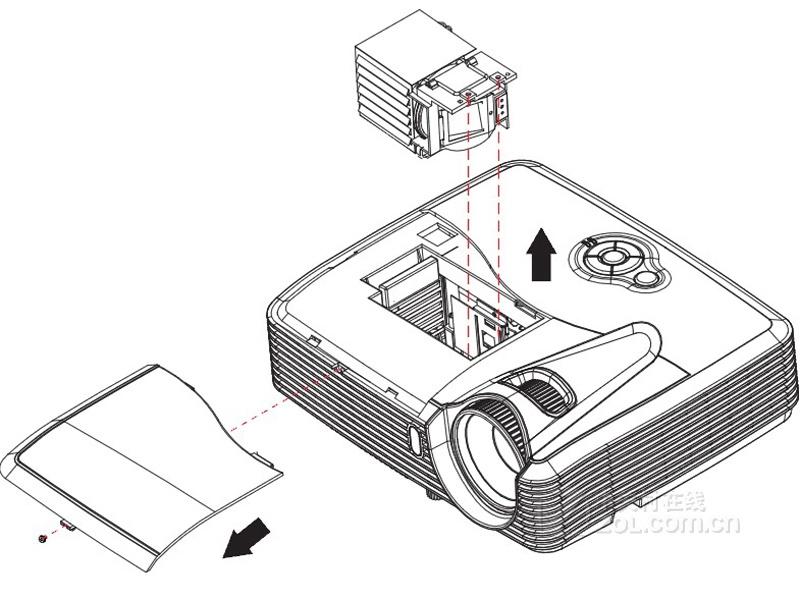 投影仪构造图解