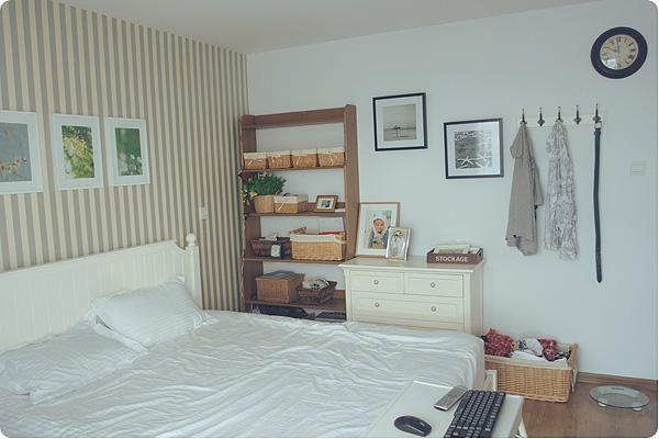 臥室連著陽臺裝修圖