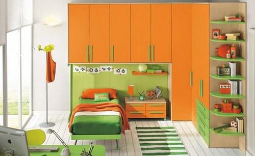 8; 儿童卧室设计图:小户型儿童房间装修效果图,儿童房屋装修,儿童装修