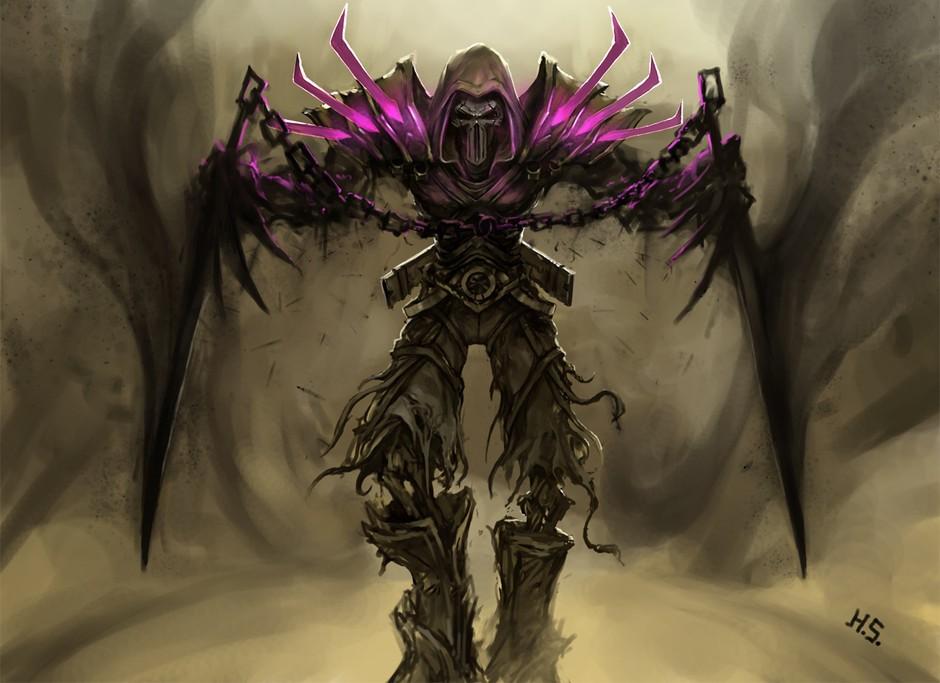 《魔兽世界》玩家h.s手绘极品职业套装-第1页