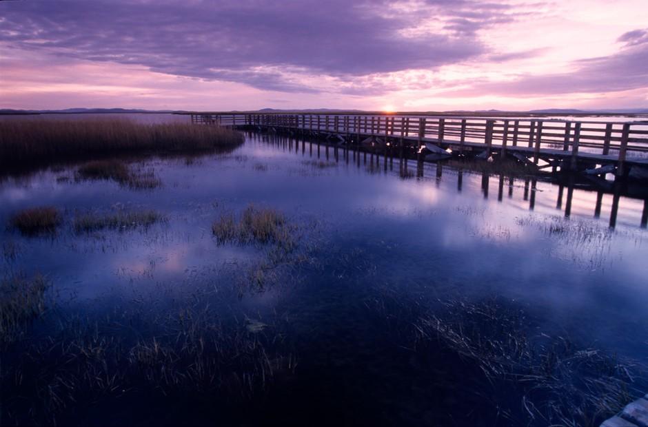 湖,海的大场景拍摄