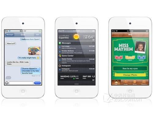 白色惹人爱 8GB容量iPod touch4售1450元-苹