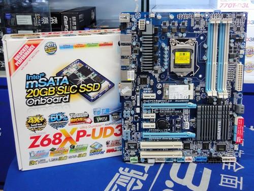 板载固态硬盘 技嘉z68主板售价2242元