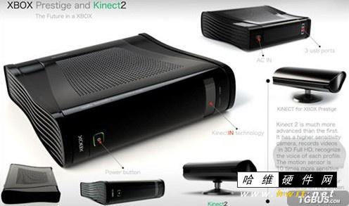 网传xbox720超酷概念设计图