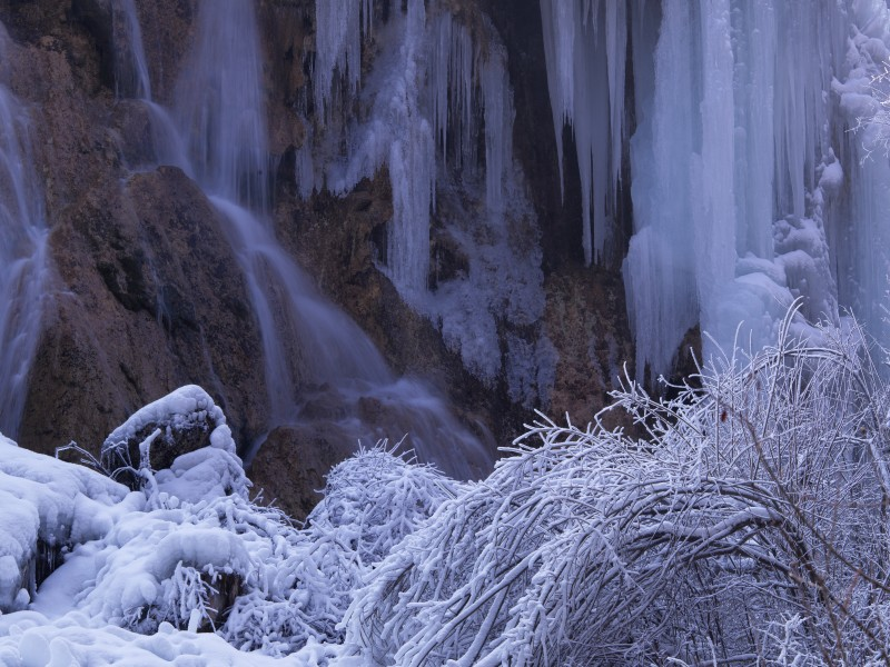 v奇景奇景二:银瀑-2月去九寨沟行摄冰瀑攻略全题材游戏图文饥荒图片
