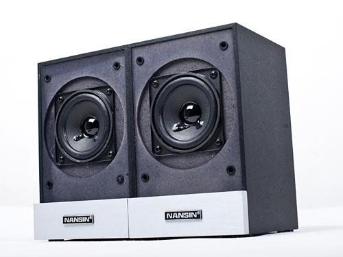 简约黑白控 兰欣t6新款2.1音箱评测