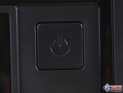 开关按钮设计成圆角正方形,面积较大,使用方便.