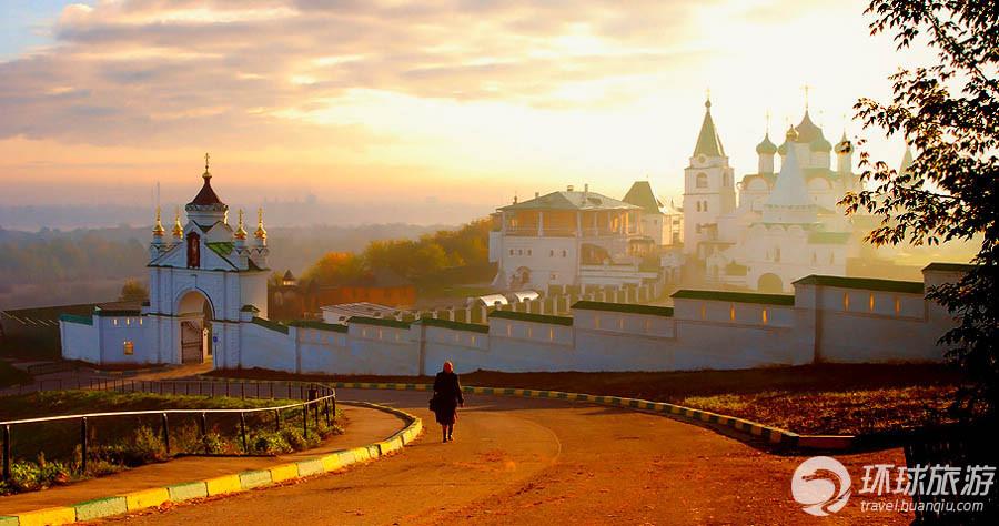 精致俄罗斯 那些色彩华丽的古俄罗斯建筑 组图