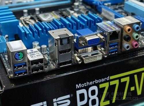 华硕p8z77-v主板上市来袭烟台五一特惠          扩展方面,主板提供2