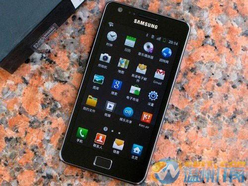 高清像素智能手机 三星i9100售价2850