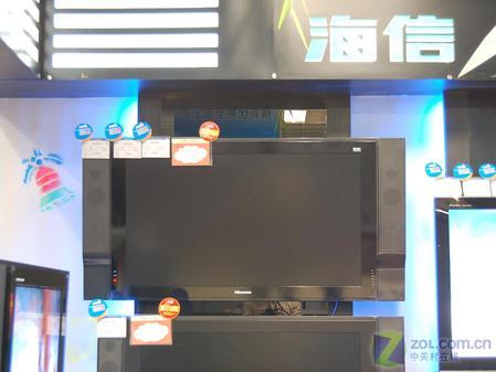 海信TLM3777   海信液晶电视TLM3777采用第七代16:9的高清液晶显示屏,分辨率1366*768,具有宽广的视角,16ms响应时间,亮度高达500cd/m2,对比度达1000:1,屏幕表面覆盖特殊进口GI材质保护屏,具有透光率高、防静电、防辐射、防划伤等功能。另外,海信自主研发的DMP双流媒体功能,实现了平板电视成为强大的数字媒体载体无缝链接,使平板电视成为真正意义上的各种数码产品的家庭显示中心。