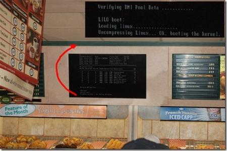 难得一见 十大经典Linux崩溃画面集锦