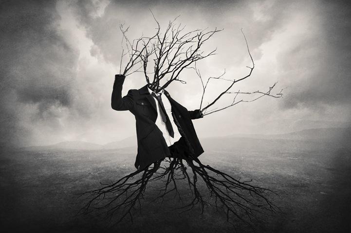 孤独不止属于你:超现实主义黑白摄影 组图