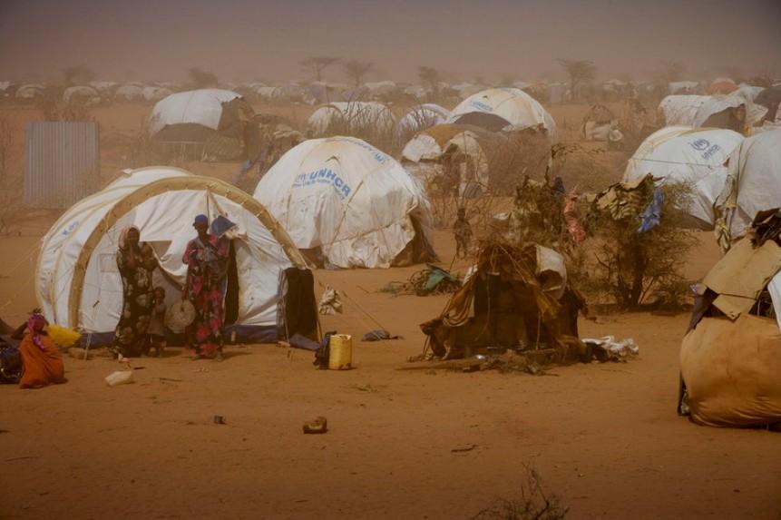 哭泣的非洲之角:世界最大难民营达达布 组图图片