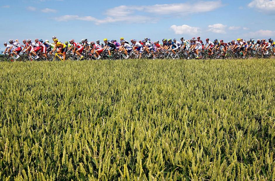 骑行的风景:2012环法自行车赛高清纪实 组图
