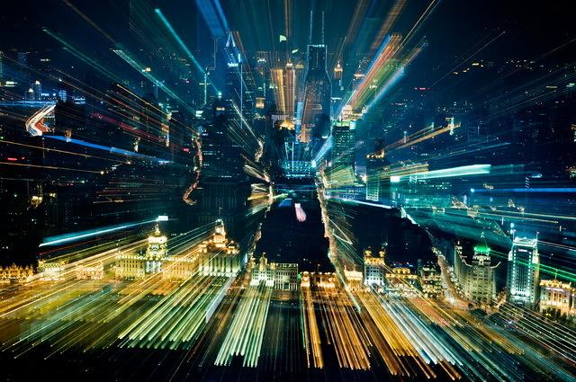 蜂鸟网 轻摄影频道 创意变焦拍摄 jakobwagner镜头下的城市风光图片