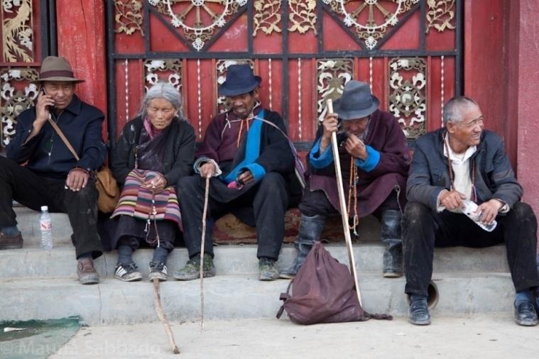 东方神秘人文风情 葡萄牙摄影师行摄西藏 组图