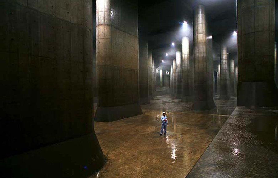 令人惊叹的日本下水道 - 香儿 - 香儿