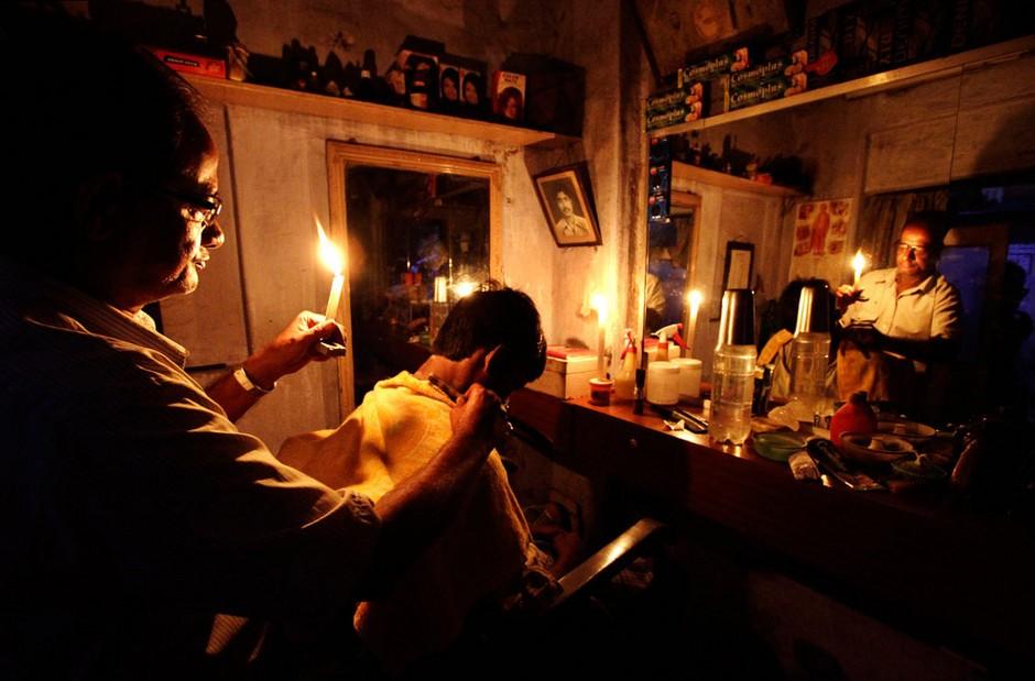 能源危机来袭:印度停电事故高清纪实 组图