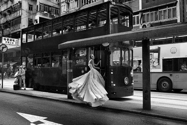 时尚香港 法国摄影师与美模的艺术行摄 组图