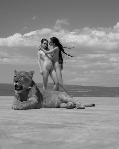 看美女如何俘虏野兽:sylvie人体作品套图 第9张