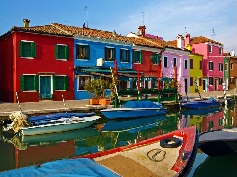 威尼斯彩色岛
