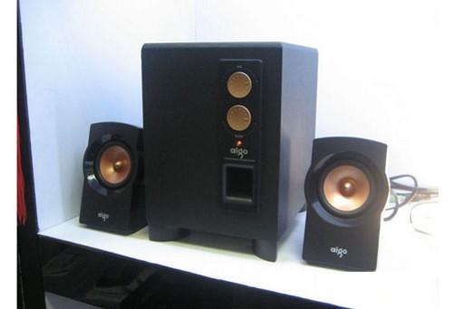 全木质结构音箱 爱国者sp1801特价139元