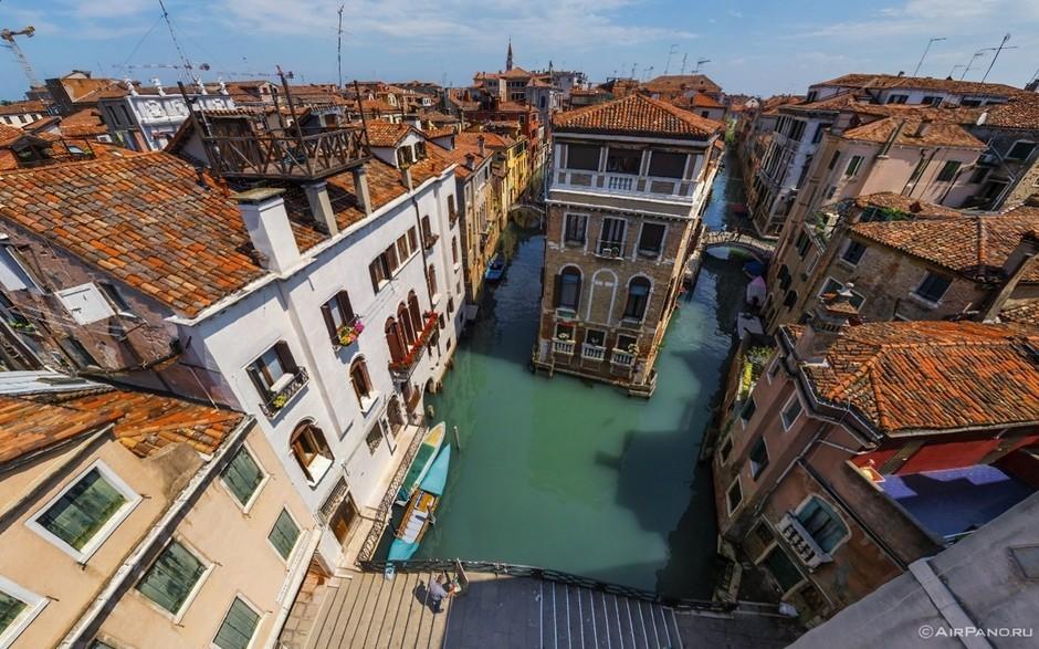 意大利的威尼斯风景 - 博海小舟 - 博海小舟; 威尼斯独特的水巷