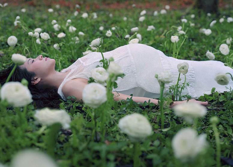 女性最美消亡瞬间 日本摄影师人体作品套图