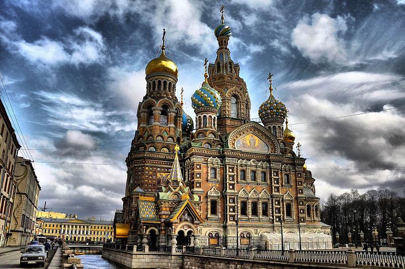 圣彼得堡滴血大教堂_圣彼得堡滴血大教堂,俄罗斯,欧洲-网络论坛调查 你心中最向往 ...