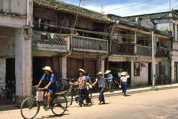 80年代的深圳老照片 80年代的深圳 日本摄影师行摄经济特区套图 第4张