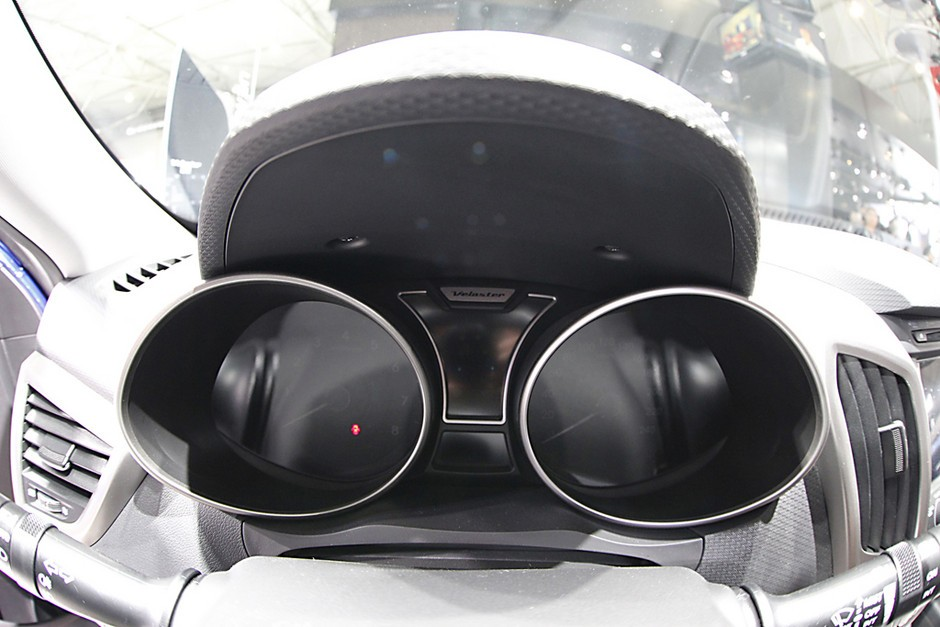 现代飞思veloster 2012成都车展 个性小钢炮 现代飞思高清图片
