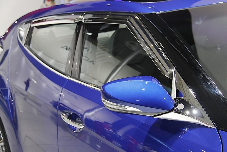 现代飞思veloster 2012成都车展 个性小钢炮 现代飞思