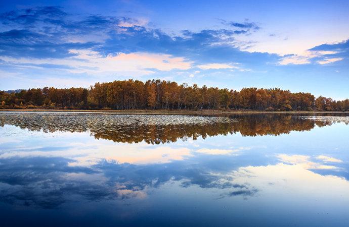 御道口草原森林风景区位于河北省承德市木兰围场坝上地区,总面积一千