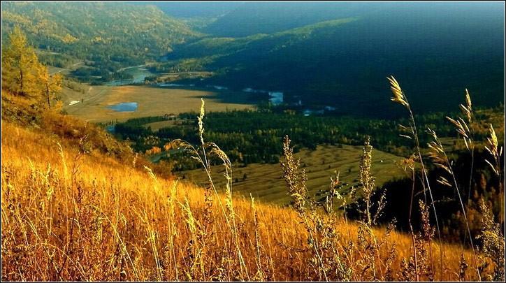 层林尽染满目流金  看地球上的秋色天堂 - 闲云野鹤 - 闲云野鹤的博客