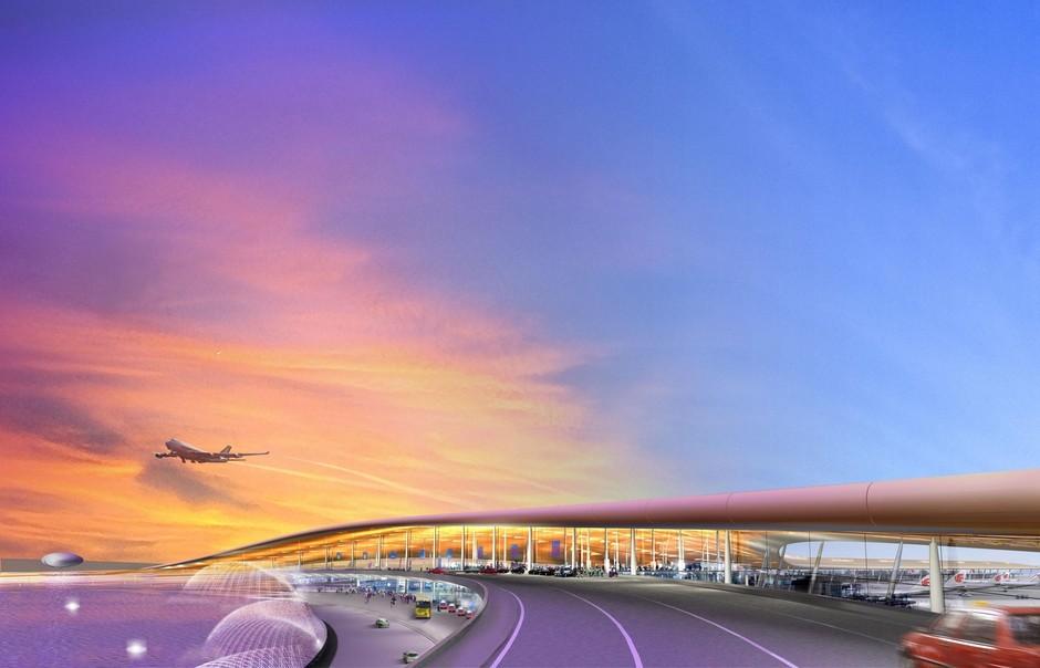 北京首都国际机场+t3航站楼-时代周刊评选中国