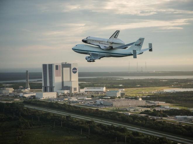 该机是1986年挑战者号航天飞机失事后建造的